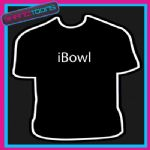I BOWL BOWLING PLAYER GIFT FUNNY SLOGAN TSHIRT
